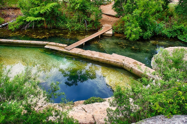 Jacobs Well Offers Cool Swimming In A Beautiful Hill