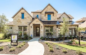 Coventry Homes Model Home in Sweetwater Austin, TX