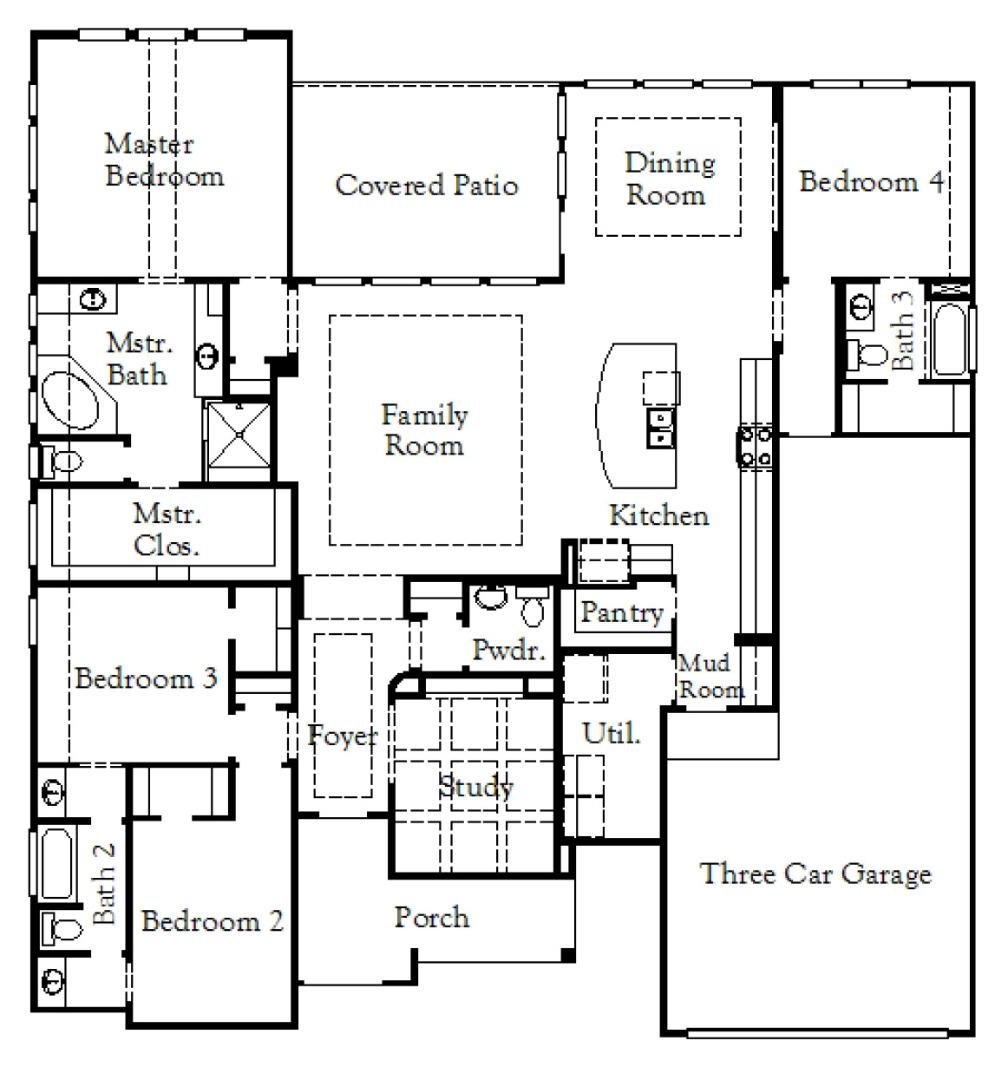 Design 2561 Floor Plan