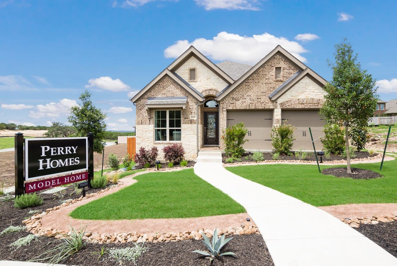 Perry Homes Design Center Utah Sweetwater Austin Texas