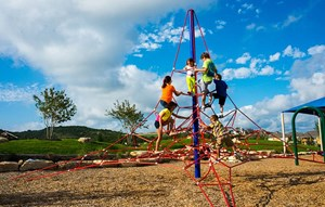 Kids Playing on Sweetwater Playground