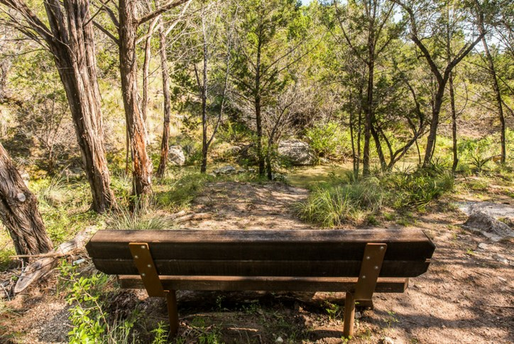 Sweetwater's scenic Hill Country trail system will ultimately extend for 10 miles, as part of more than 700 acres of parks, trails and natural open space in the community.