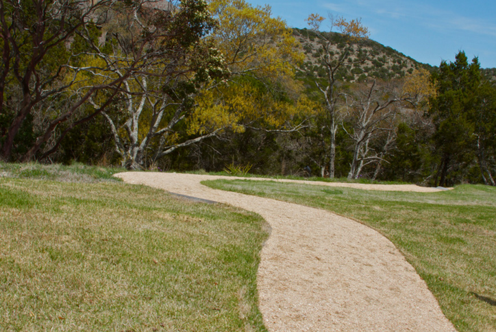 Sweetwater's trails are a popular amenity for residents who enjoy running, walking and other activities, especially in fall.