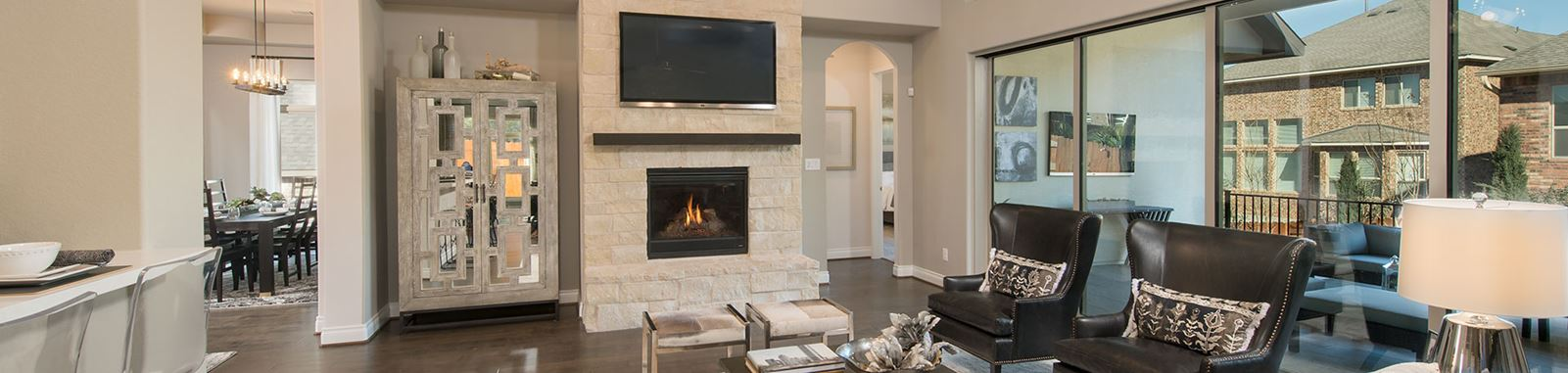 Perry Homes Model Home 3435S in Sweetwater Austin