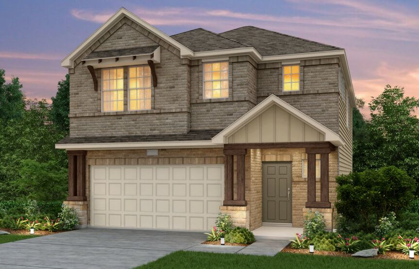 Alexander New Home Plan By Pulte Homes In Sweetwater