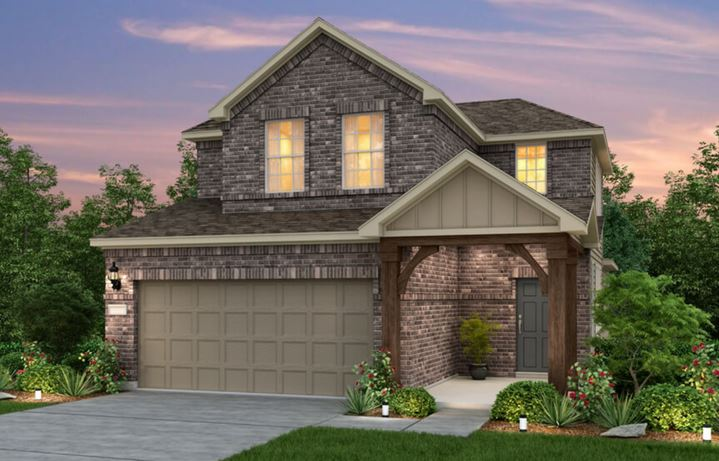 Sweetwater Pulte Homes Harrison Plan Elevation K