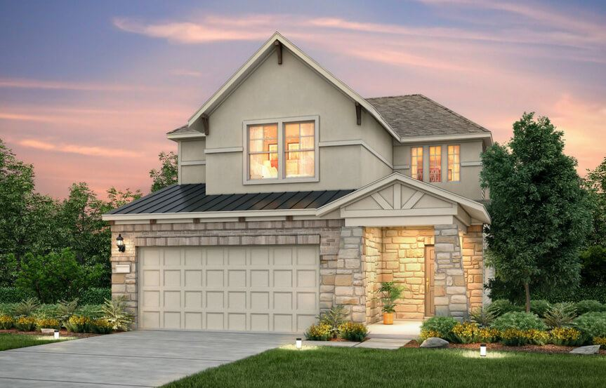 Harrison New Home Plan By Pulte Homes In Sweetwater Austin, TX