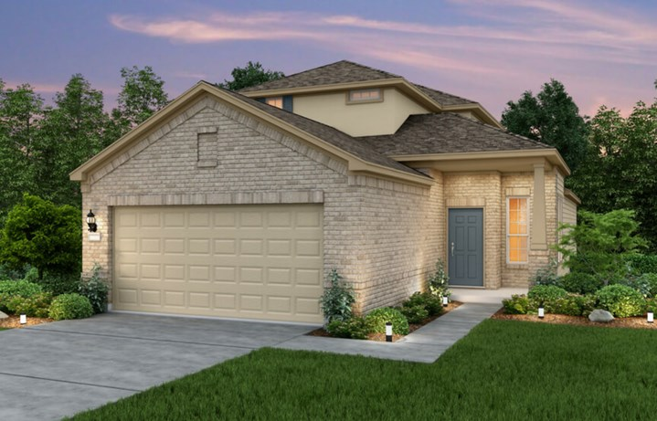 2144W New Home Plan By Perry Homes In Sweetwater Austin, TX