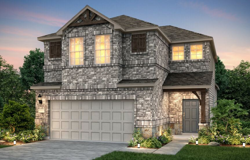 Nelson New Home Plan By Pulte Homes In Sweetwater Austin, TX