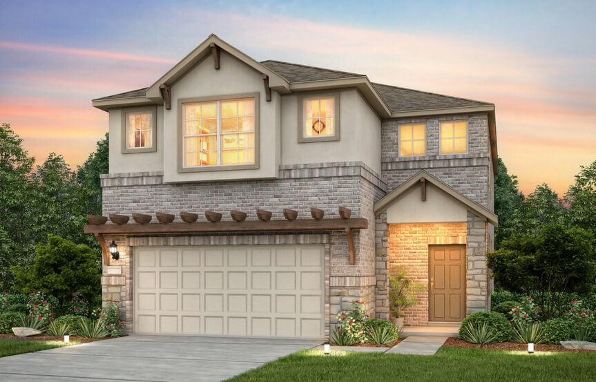 Sienna New Home Plan By Pulte Homes In Sweetwater Austin, TX